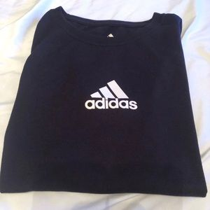 Adidas Woman's Black Tee L, with ATS